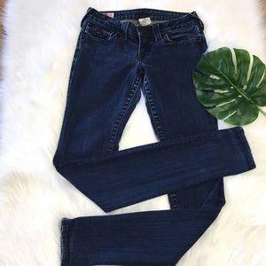 True religion Julie skinny jeans size 27